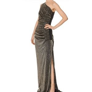 NEW Shelli Segal One-armed Evening Gown
